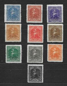 L8713 EL SALVADOR 1893 SC 76-85 GENERAL EZETA FULL SET