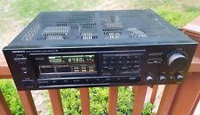 Onkyo Tx-840 Tuner Amplifier Fm Stereo Quartz Synthesized Japan Black 60W 8ohms