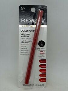 Revlon Colorstay Long Wearing Lip Liner Pencil 8Hr 675 Red Rouge