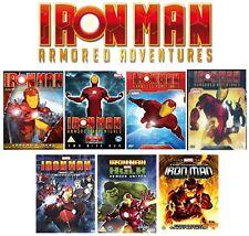 Iron Man Armored Adventures 8 dvd set + Technovore + Invincible + Hulk 3 Movie