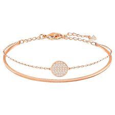 Swarovski Ginger Bracelet, Rose Gold Tone Bangle 5274892 Swarovski Bracelet