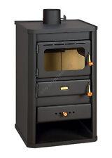 Wood Burning Stove Fireplace 10 kW Multi Fuiel Woodburning Log Burner Prity S2