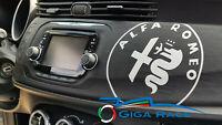 adesivi auto alfa romeo giulietta mito 159 logo 2016 sticker decal carbonlook