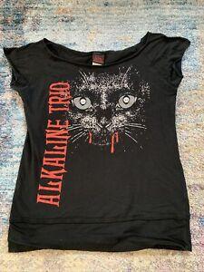 Alkaline Trio Band Shirt Womans Large