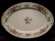 "Vintage Wentworth China ""Roxanne"" Pattern Large 16"" Serving Platter"