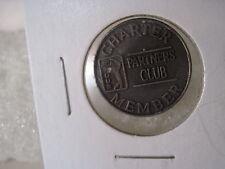 Partners Club charter Member brass token