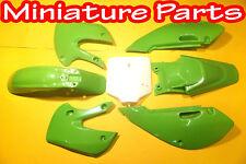PIT BIKE KX65 KLX110 KLX KX RM 65CC PLASTICS PLASTIC FENDER FAIRING PANELS PANEL