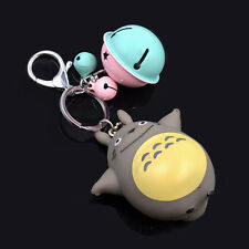 Anime Totoro Schlüsselanhänger Tasche Anhänger Schelle Key Chain Schlüsselring