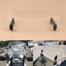 Universel Clip On Windshield Windscreen Extension Wind Deflector fits for Honda