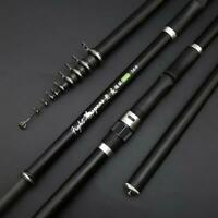 Fishing Rod Carbon Fiber Ultra Light Telescopic 2.4m 3.6m 4.5m 5.4m 6.3m 7.2m