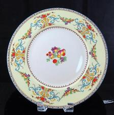 "MYOTT STAFFORDSHIRE ENGLAND ROYAL YORK FLORAL 10 5/8"" DINNER PLATE 1900-1930"