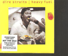 "DIRE STRAITS ""Heavy Fuel"" Australia Cardsleeve CD promo stickered"