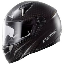 NEW LS2 FF396 CRI SINGLE MONO CARBON HELMET WITH AIR-PUMP, SIZE XXL RRP £249.99