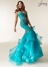 Jasz Couture Womens Prom Homecoming Wedding Pageant Social Dress Style 6233 -New