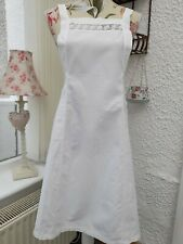 More details for vintage white bib apron pinny