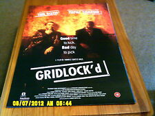 Gridlock'd (Tupac Shakur, tim roth) A2 Movie Poster