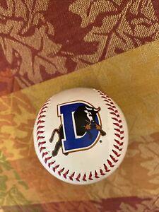 Durham Bulls Souvenir Stitched Logo Baseball Fotoball Ball