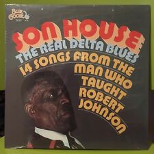 "SON HOUSE ""Real Delta Blues 14 Songs From Man Who Taught Robert Johnson"" LP NEW"