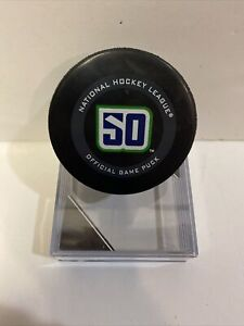 2019-2020 VANCOUVER CANUCKS 50th Official Game Puck