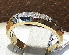 14K Yellow Gold Princes-cut Diamond Band size 6