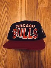Vintage OG 90's Chicago Bulls Snapback Hat Snapbacks Retro NBA MJ Jordan G-CAP