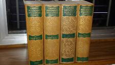 GRANDE DIZIONARIO della Lingua Italiana UTET 1962 opera incompleta (14 volumi)