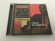 Fred McDowell Amazing Grace & My Home Is In The Delta 2 CD  MINT