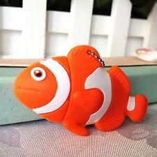 Gifts Cartoon Tropical Clown Fish model 8GB USB 2.0 Memory Stick Flash pen Drive