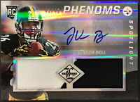 LeVeon Bell Autographed 2013 Panini Limited Football Card