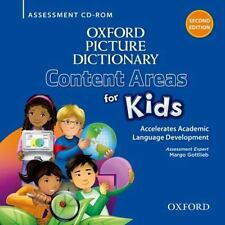 NEW - Oxford Picture Dictionary Content Area for Kids Assessment CD-ROM
