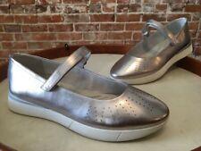 Easy Spirit Silver Crane Mary Jane Comfort Sneaker Shoes 6 W Sale