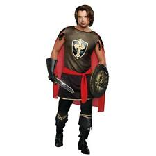 Mens KING OF SWORDS Costume Adult XL 46 48 Crusader Medieval Knight Warrior