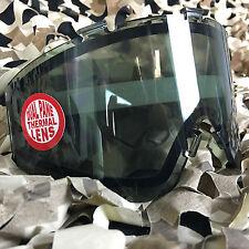 NEW JT Spectra & Flex Paintball Mask Dual Pane Thermal Anti-Fog Lens - Smoke