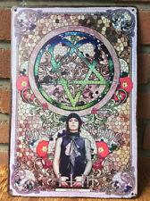 HIM Uneasy Listening RARE Metal Vintage Tin Sign Poster Ville Valo heartagram