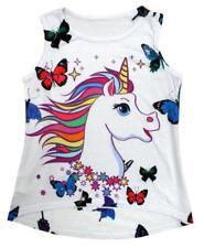 Vêtements multicolore en polyester sans manches pour fille de 2 à 16 ans