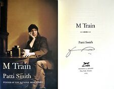 Patti Smith SIGNED IN PERSON~M Train~1st/1st + Photos~NOT PUBLISHER'S TIPPED-IN!