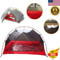Ultralight Camping Backpacking 1 Person Tent Double Layer 4Season Dome Tent USA