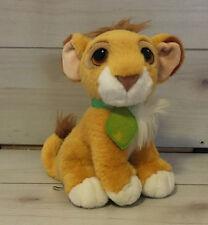 A21 Disney The Lion King Purring Cub Simba Plush! 10 Inches Stuffed Animal EUC