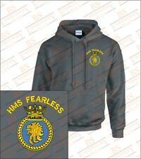 HMS FEARLESS Crested Hooded Sweatshirts