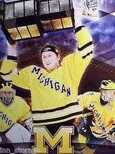 University of Michigan 2008-09 Hockey Schedule Poster