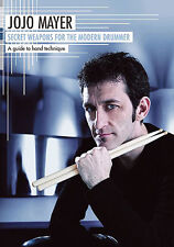 JoJo Mayer Secret Weapons For The Modern Drummer DVD LEARN TECHNIQUE RHYTHM NEW