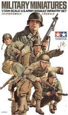 TAMIYA 1:35 SOLDATI MILITARY MINIATURES U.S. ARMY ASSAULT INFANTRY SET 35192
