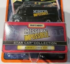 SURVEILLANCE VAN From MISSION IMPOSSIBLE ~ 1997 Matchbox Star Car ~ SOFT CORNER