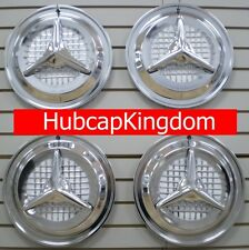 "15"" OLDSMOBILE OLDS FIESTA Style FLIPPER Hubcaps Wheelcover SET"