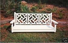 "SFK FURNITURE 67"" Chippendale Porch Swing"