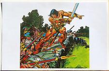 CONAN the BARBARIAN Pin Up Poster Patriotic Marvel