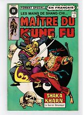 FRENCH COMIC FRANÇAIS EDITION HERITAGE CANADA  MASTER MAITRE KUNG FU  #  35