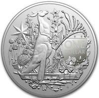 *NEW* 2021 1 OZ AUSTRALIA COAT OF ARMS .999 SILVER BU COIN