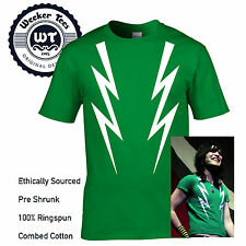 Mighty Boosh Fulmine Bulloni T Shirt Noel Fielding Uomo Donna Bambini Hitcher