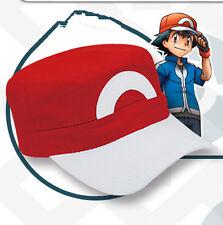 Anime Pokemon GO XYZ ASH KETCHUM Trainer Costume Cosplay Hat Cap PoP
